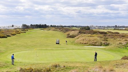 Great Yarmouth and Caister Golf Club. The view across the course.Picture: James Bass Photography