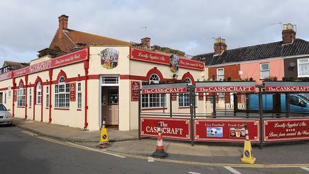 The Cask and Craft pub will close once permission has been granted to convert the site into two unit