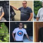 Brian Hodson, Ian Thompson and Karl Layton who between them have lost 10 stone. Photos: Supplied by