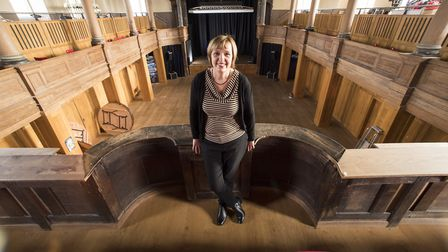 Debbie Thompson is the theatre director for St George's Theatre, Yarmouth Picture: Nick Butcher