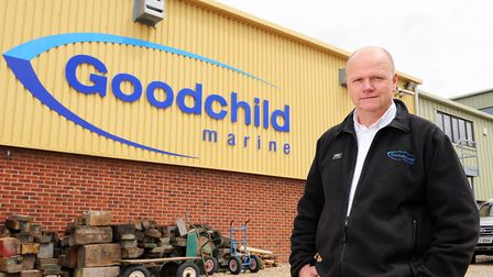 Mr Goodchild's business is being affected by the bridge closure Picture: J