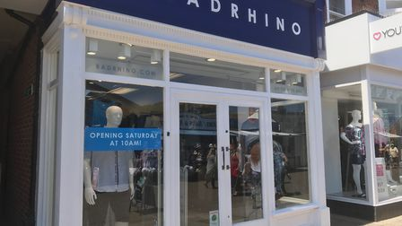 The BadRhino store will open in Great Yarmouth on SaturdayPicture: Anthony Carroll