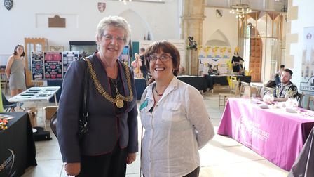 The first Futures Fest was held at the Minister Church. Picture: Paula Sheldon