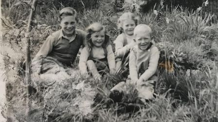 Children named Colin, Judy, Cynthia and Chrisopher. Picture: Sarah Woolley