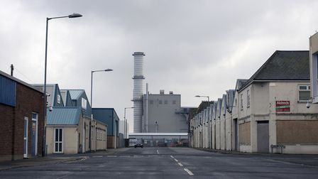 A view of the Great Yarmouth Power Station from Fenner Road. Picture: JAIME-LEA TAYLOR