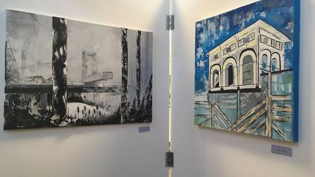 Flegg High School has staged its annual art show to much acclaim Photo: Liz Coates