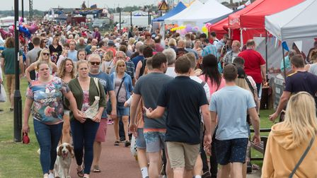 Gorleston Clifftop Festival will return at the end of the month Photo: Steve Ad