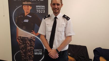 PC Dan Potter will be using social media in his rolePicture: PC Dan Potter
