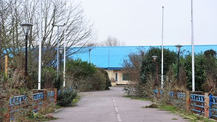 The Former Hemsby Pontins Holiday camp.