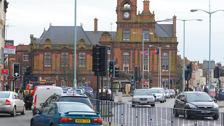 Great Yarmouth Town hall, where the council is based at Picture: James Bass