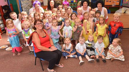 Gail Eccles from Childrens Nursery Cascade in Gorleston is set to retire after 25 years.Picture: Ni