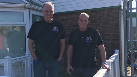 Gerry Coulam and Mark Aylen have opened a pet crematorium in Gapton Hall Road, Great Yarmouth