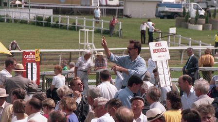 Great Yarmouth Racecourse, 22nd July 1992. Photo: Archant Library