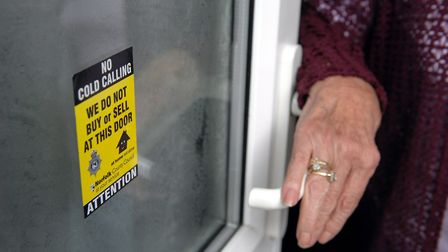 People in Bradwell are being advised to be vigilant amid reports of a doorstep cold-caller