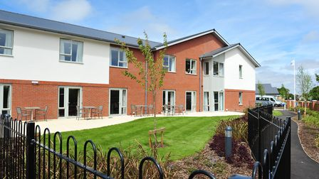 Official opening of Ritson Lodge a new care home in Hopton.