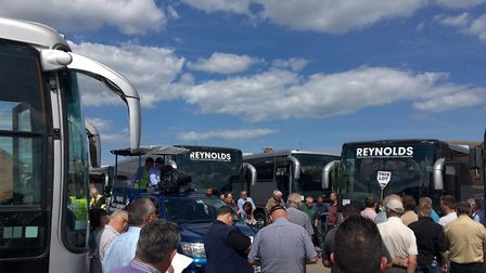 All twenty coaches were sold at the auction. Photo: James Carr.