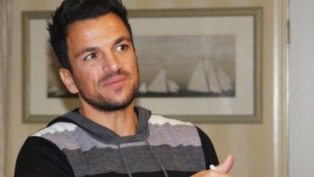 Peter Andre in 2013. Picture: Maurice Gray