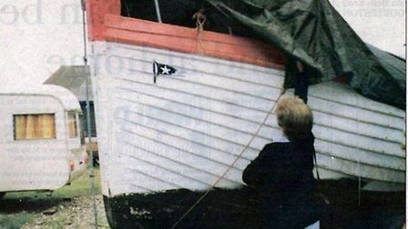 Former Titanic lifeboat? No, the Upton-based Girl Madge II was just another Broadland boat after som