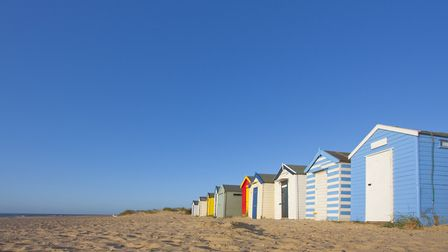 Beach huts at Southwold. Gorleston will be getting its own beach huts soon - and the price has been