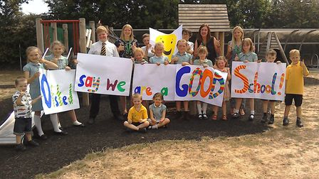 Lingwood Primary Academy has achieved a clean-sweep of 'goods' from Ofsted Picture: Lingwood Primary