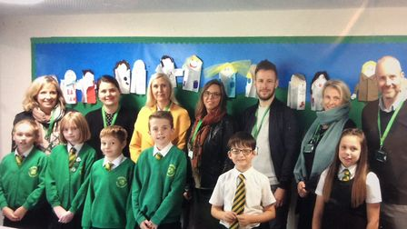 Teachers and leaders from Norway visited Lingwood Primary Academy this week to see how they worked w