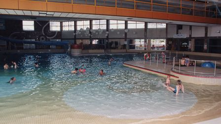 Swimmers enjoying the pool at Yarmouth's Marina Centre. Picture: Archant library