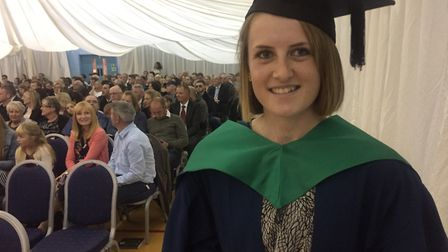 Ellen Lincoln has been named student of the yearPicture: Easton and Otley College
