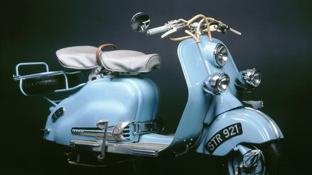1957 Lambretta LD 150. (Photo by National Motor Museum/Heritage Images/Getty Images)