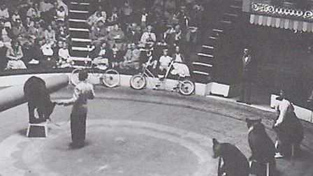 An act with dancing bears at the Hippodrome decades ago. Such spectacles have long been outlawed.