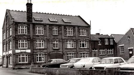 Johnson & Sons shirt and protective clothing factory on Pier Plain in Gorleston in 1978.