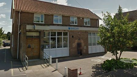 The Barclays Bank branch in Acle will close on May 17.
