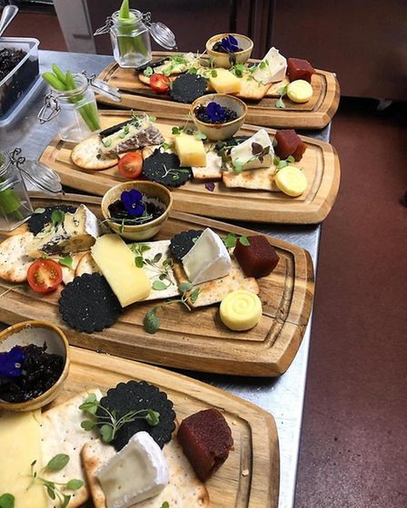 A cheeseboard at Branford's in Caister. Picture: Branford's
