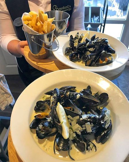 Mussels at Branford's. Picture: Branford's