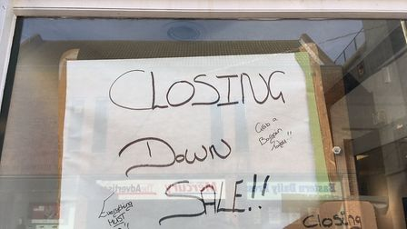 A closing down sale is now on at Shabby Chiq in Great Yarmouth. Picture: Joseph Norton