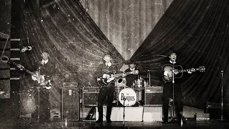 This photo of the Beatles, taken in 1963 in Great Yarmouth, was printed only on February 5, 2019. Ma