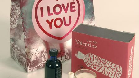 Take a look at five popular Valentine's Day gifts available in Great Yarmouth. Photo: Paul Hewitt