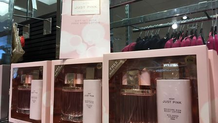 Next's Just Pink fragrance gift set would make the ideal Valentine's gift for her. Picture: Joseph N