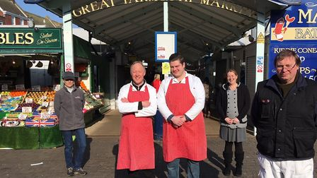 Traders on Great Yarmouth's historic market have claimed they are stuck in limbo having not heard fr