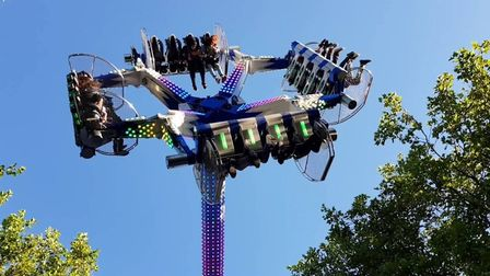 The Air Maxx - the new attraction for the coming season at Great Yarmouth's seafront Pleasure Beach.