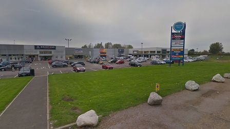 Police have been called to Gapton Hall retail park in Great Yarmouth. Picture: Google Maps
