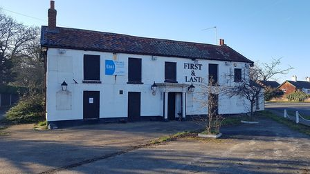 The First and Last pub in Ormesby St Margaret is on the market for £400,000 Picture: Liz Coates