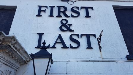 The First and Last pub is poised to become homes Picture: Liz Coates