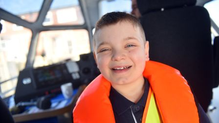 Blake Saunders, 9, from Great Yarmouth won a regional school competition which involved primary scho