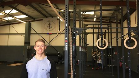 Phil Cox, 28, joint owner of CrossFit Great Yarmouth. Picture: Joseph Norton