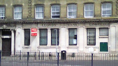 Lloyds' former bank on Hall Quay.