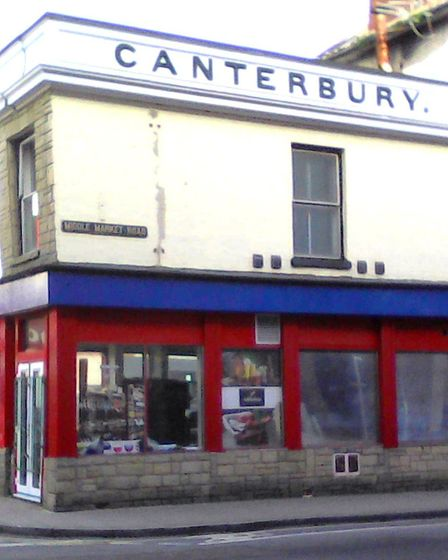The old Canterbury Tavern just off the Market Place