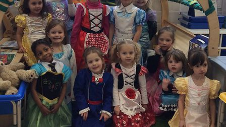 Pupils at Cobholm Primary Academy in Great Yarmouth dressed up for World Book Day 2019. Photo: Cobho