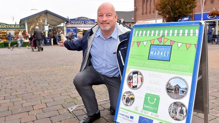 Town centre manager Jonathan Newman, hopes Great Yarmouth's town centre masterplan will help to attr