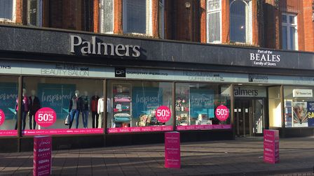 Palmers department store on Market Place in Great Yarmouth reopened on Tuesday (February 19) after a