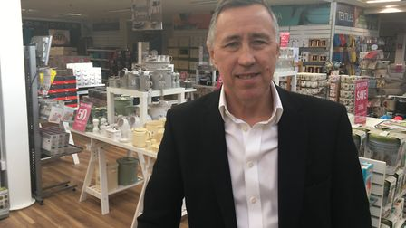 Tony Brown, CEO and owner of Beales department store chain, which took over Palmers in Great Yarmout